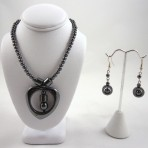 Haematite necklace