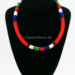 Red Maasai Necklace