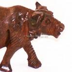 Wooden wildebeest