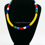 Yellow Maasai Necklace