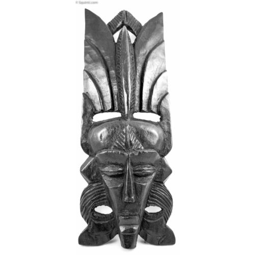 Congo Ebony Mask - Female