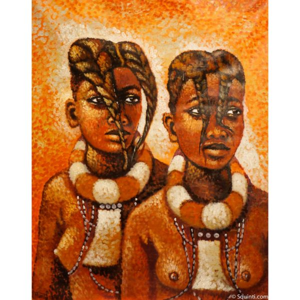 Himba women
